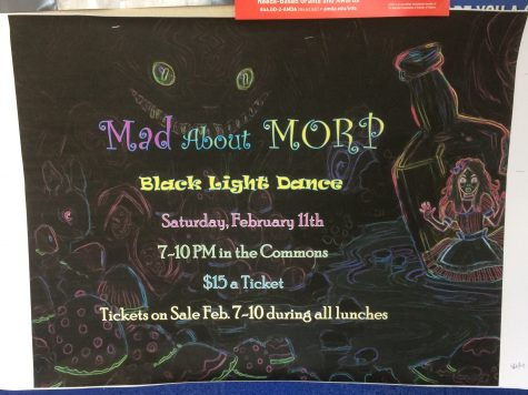 Black light dance to be held in Wonderland