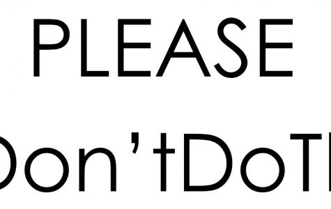 #Don'tDoThis