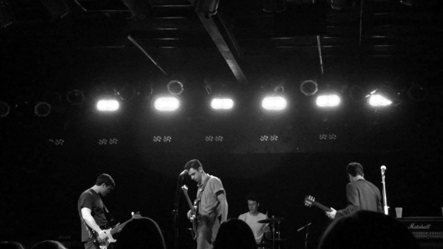 The Threads rock the concert at Bottom Lounge Chicago.