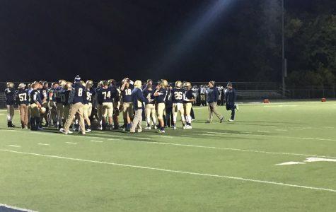 Fall season seniors recognized at last regular football game