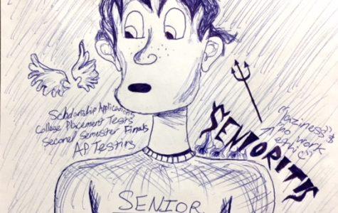 """Seniors face the dreaded """"senioritis"""""""