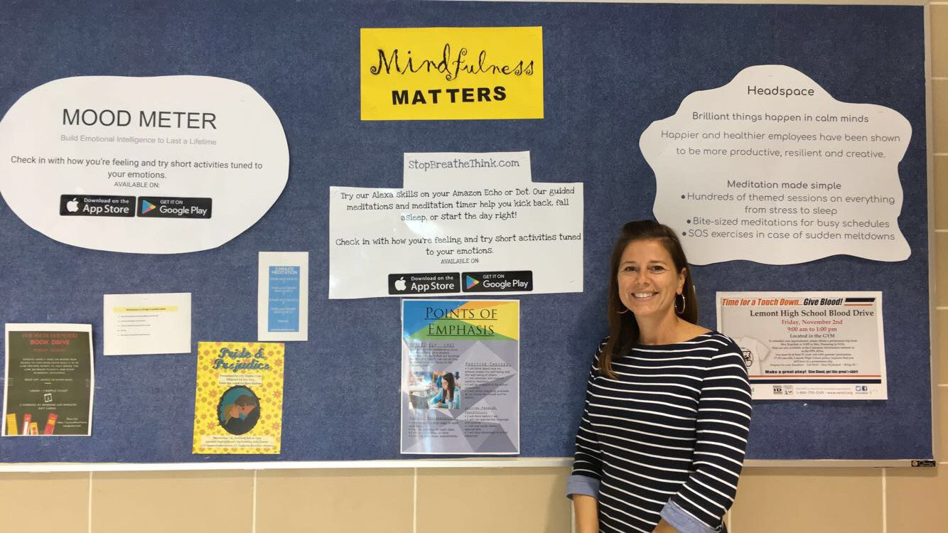 "Bushnell points out that ""Mindfulness Matters"" in the awareness of test anxiety. She encourages teenagers to reach out about anxiety, because the little things can make a huge difference."