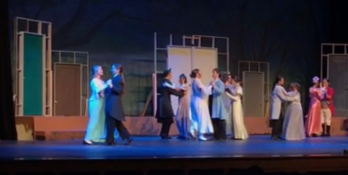"The Drama Department's ""Pride and Prejudice"" had a dress rehearsal two days before the opening night."