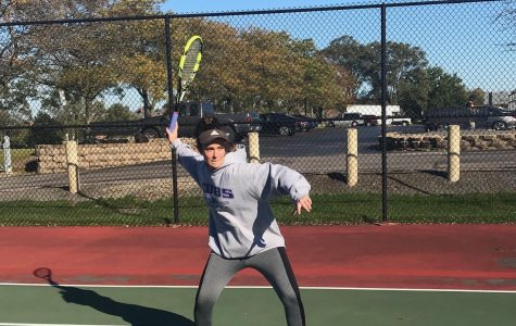 Girls tennis team swings to victory