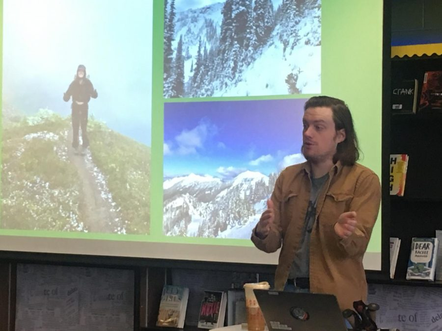 Alum recounts hike along the Pacific Crest Trail