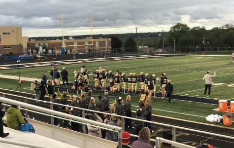Sophomore football dominates competition at homecoming game