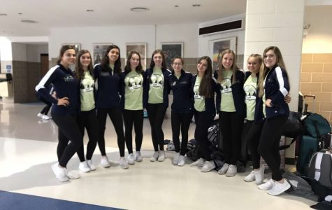 "The varsity dance team holds a state send off every year they attend the IHSA state competition. ""To be a team in the state finals is a big accomplishment. Appearing at state proves that the work you've put in has paid off and allows your team to compete against the top teams in the state"" said Antonopoulous."
