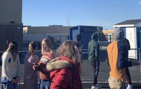 Sprinkler activates fire alarm during lunch