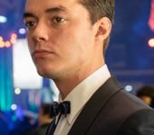Jack Bannon, above, plays Alfred Pennyworth in the show.