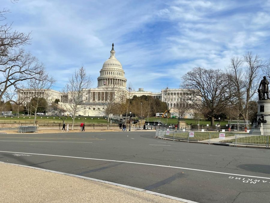 DC and the nation's capitol were relatively quiet in the days before the January 6 counting of electoral votes.