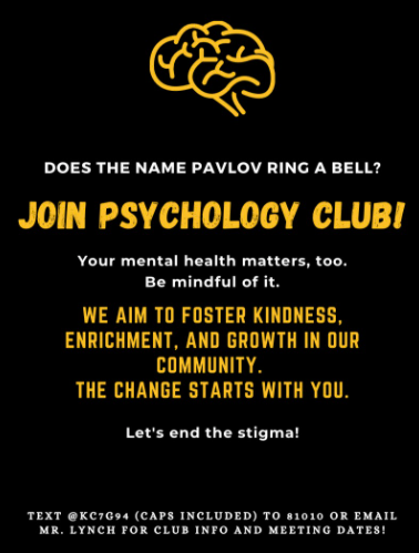 Introducing the new psychology club