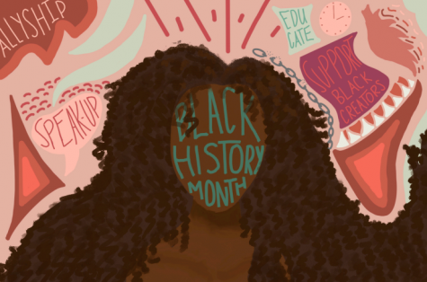"Celebrate Black History Month by learning, accepting, and amplifying. The Black History Month 2021 Theme is ""The Black Family: Representation, Identity, and Diversity."""