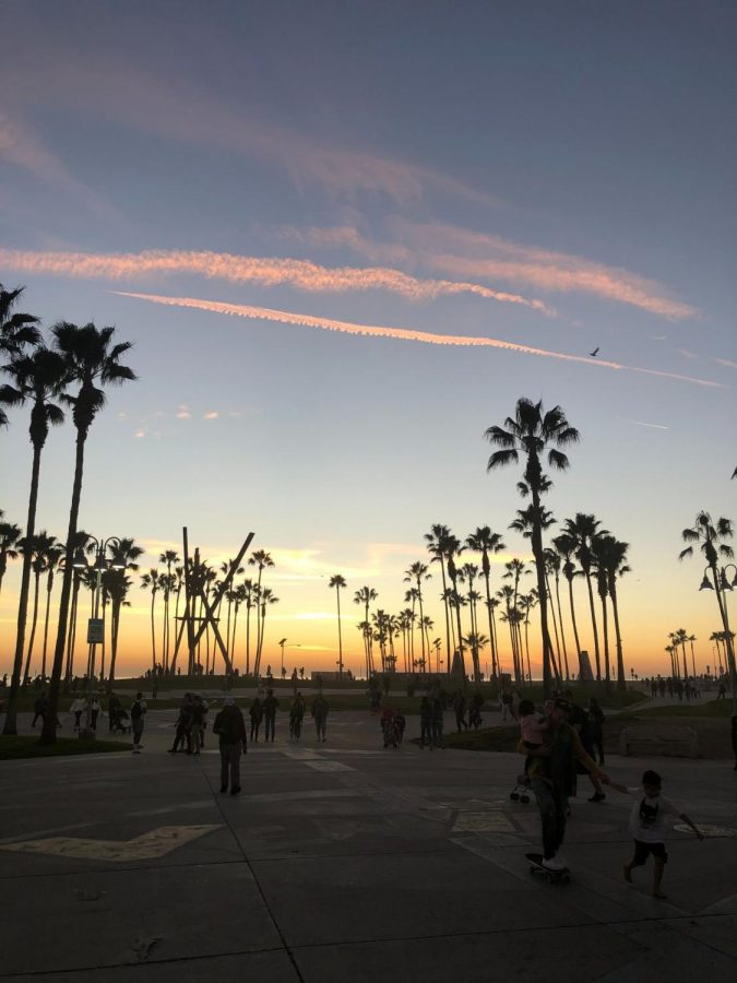 For many people, the start of summer signifies the beginning of more desirable weather and freetime to spend with friends and family. Here we see a gathering of people from all walks of life taking in Venice Beach, Los Angeles.