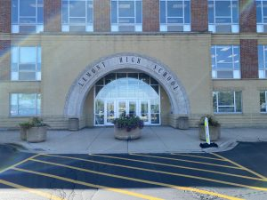 """Lemonts main entrance is known as the """"Arch"""" where most students would go through at the start and end of school."""