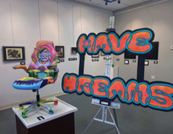 The art exhibit is taking place until Oct. 30, every Friday thru Sunday from noon to 4 p.m.