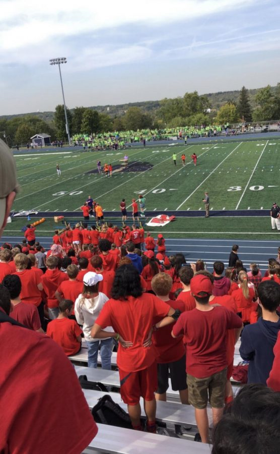 Class color day skits become a big deal